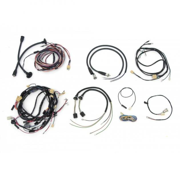 chevy wiring harness kit  v8  manual transmission  with