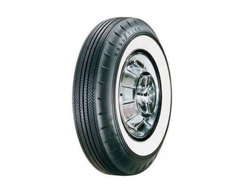 Early Chevy Tire, 6.70/15 With 2-1/4'' Wide Whitewall, Goodyear Bias, 1949-1954