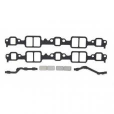 Early Chevy Intake Manifold Gasket Set, With Block Off-Plate, V8, 1949-1954