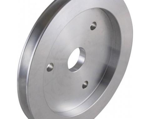 Chevy Big Block Aluminum Crankshaft Pulley, Small Water Pump, 1 Groove