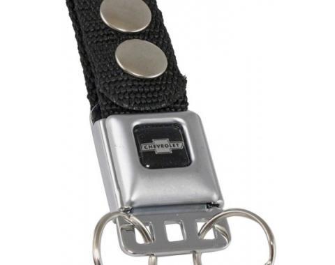Key Chain, Bowtie Silver Logo