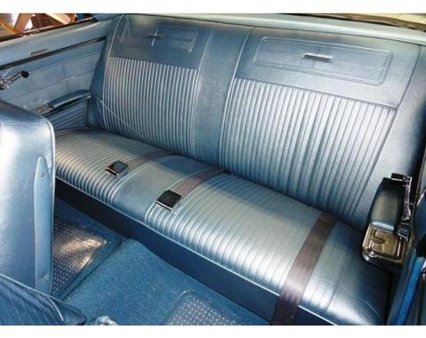 PUI 1962-1964 Chevrolet Chevy II Rear Seat Covers, Coupe 63XSC
