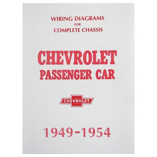 Chevy Wiring Diagram Manual  Passenger Car  1949