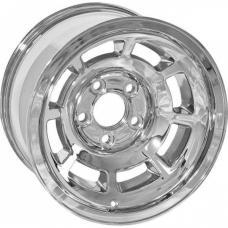Corvette-Style Chrome Reproduction Aluminum Wheel, 1955-1957