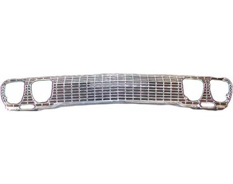 Full Size Chevy Grille & Mounting Bracket Assembly, 1963