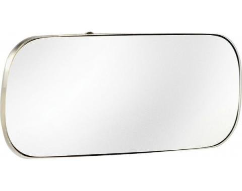 Chevy Mirror, Rear View, Inside, 1949-1952