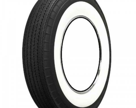 Early Chevy Tire, Original Appearance, Radial Construction,7.60 x 15'' With 3-1/4'' Whitewall, 1949-1954