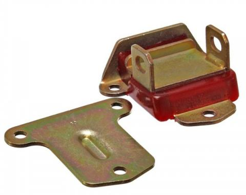 Early Chevy Motor Mount, Urethane Zinc Plated, 1949-1954