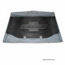 Early Chevy Under Hood Cover, Quietride AcoustiHOOD, 3-D Molded, With Logo, 1953-1954