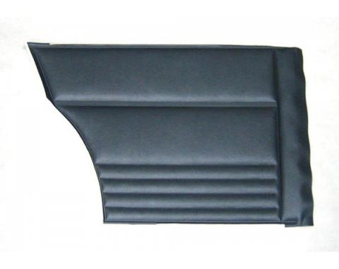 PUI 1967 Chevrolet Chevy II Rear Door Panels, Coupe 67XDC