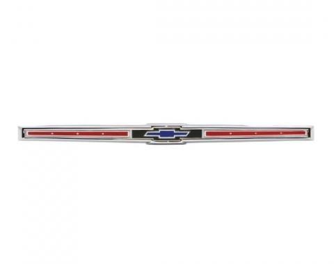 Trim Parts 65 Full-Size Chevrolet Rear Emblem Assembly, Each 2459