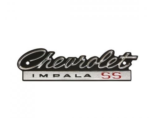 Trim Parts 66 Full-Size Chevrolet Grille Emblem, Chevrolet Impala SS, Each 2500