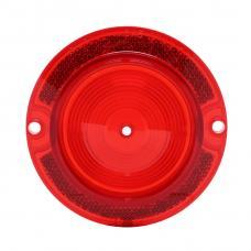 Trim Parts 63 Chevrolet Impala Red Tail Light Lens, without Trim, Each A2250