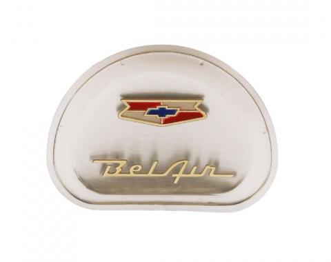 Trim Parts 57 Bel Air Horn Center Emblem Assembly, Each 1406