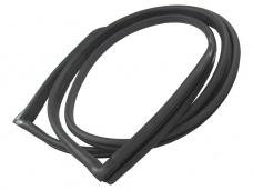 Precision Sedan/Coupe Models-Rear Window Weatherstrip Seal, Works With Chrome Trim That Inserts into Body Clips WBL DB395 GM