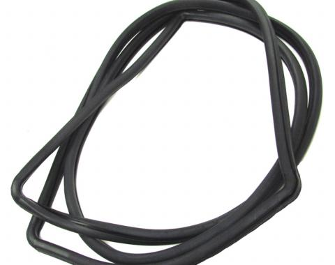 Precision Convertible Models-Windshield Weatherstrip Seal, Works With Chrome Trim That Inserts into Body Clips WCR D608