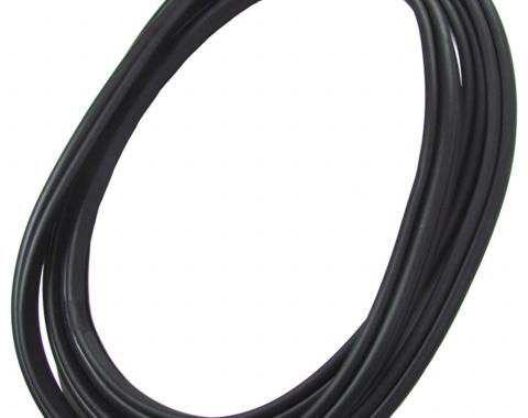 Precision Fits All Models Except Convertibles-Windshield Weatherstrip Seal With Trim Groove for Steel Trim WCR 394 GM