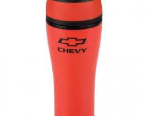 Chevy Tumbler, Red, With Click Open Lid