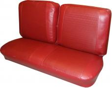 PUI 1966 Chevrolet Chevy II Split Bench Front Seat Covers 66XSBS