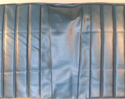 PUI 1967 Chevrolet Impala Straight Bench Front Seat Covers, 4 Door 67BS4DB