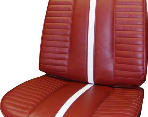 PUI 1967 Chevrolet Chevy II Bucket Front Seat Covers 67XSU