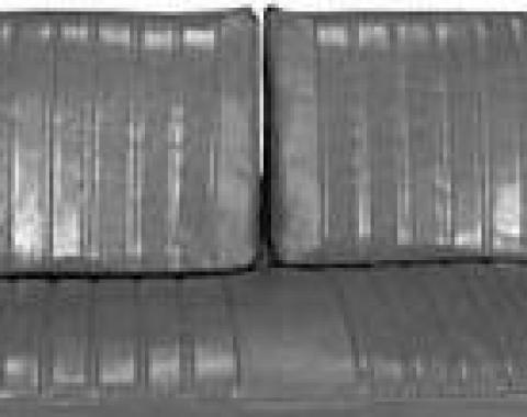PUI 1971-1972 Chevrolet Impala Split Bench Front Seat Covers 71BSB
