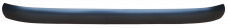 Key Parts '47-'53 Custom Rear Smoothie Bumper, Paint to Match SLC-009