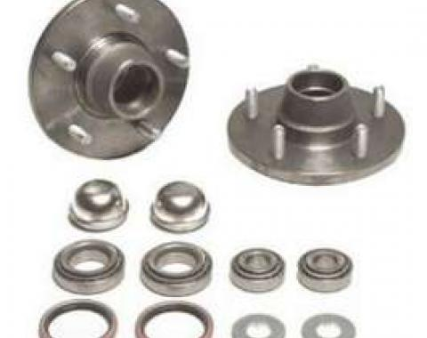 Chevy Tapered Roller Bearing Hub Conversion Kit, 1955-1957