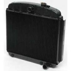 Chevy Radiator, Copper Core, V8, For Cars With Automatic Transmission, U.S. Radiator, 1955-1957
