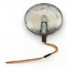 Chevy Dome Light Housing, Used, 1955-1957