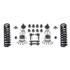 Chevy Front End Rebuild Kit With Rack & Pinion & Stock Springs, 1955-1957