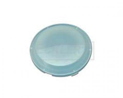 Chevy Dome Light Lens, White Replacement 1955-1957