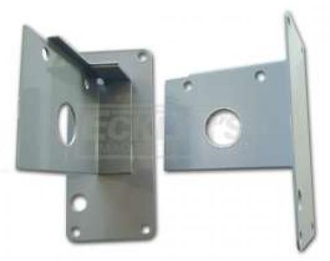Chevy Tailgate Or Liftgate Reel Brackets, Nomad Or Wagon, 1955-1957