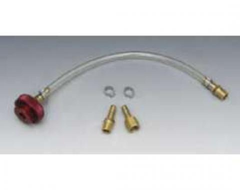 Chevy Brake Pressure Bleeder Adapter, Single Master Cylinder , 1955-1957