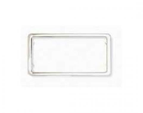 License Plate Frame, Custom