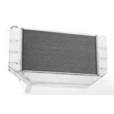 Chevy Cross-Flow Radiator, Polished Aluminum, LS1, LS2, LS3& LS6, Griffin, 1955-1957