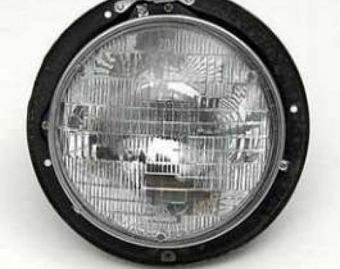 Chevy Headlight Bucket, Complete, 1955