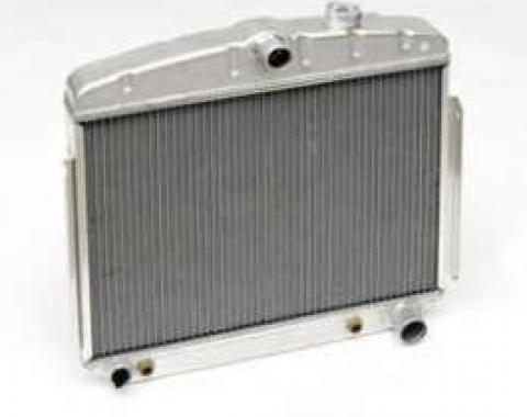 Chevy Aluminum Radiator, 6-Cylinder Position, 1955-1956