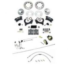 Chevy Disc Brake Kit, Wilwood, Power, Front, Complete, 1955