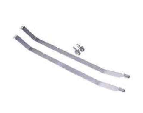 Chevy Gas Tank Mounting Straps, 1955-1957