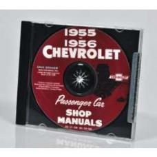 Chevy Shop Manual CD, 1955-1956