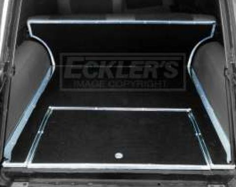 Chevy Rear Cargo Trim, Stainless Steel, Show Quality, For Nomad, 1955-1957