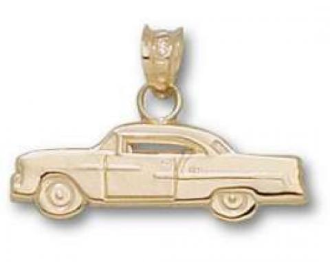 Chevy Pendant, 1955, 14KT Gold