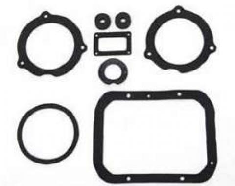 Chevy Heater Gaskets, Deluxe, 1957