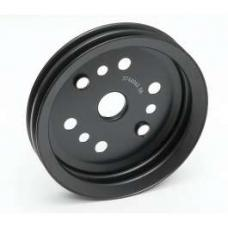 Chevy Crankshaft Pulley, Double Groove, 1955-1957