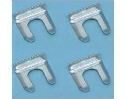 Chevy Brake Hose Clip Set, 1955-1957