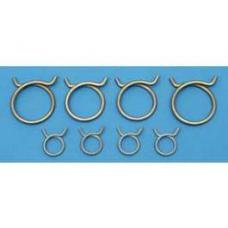 Chevy Radiator & Heater Hose Clamp Set, 1955-1956