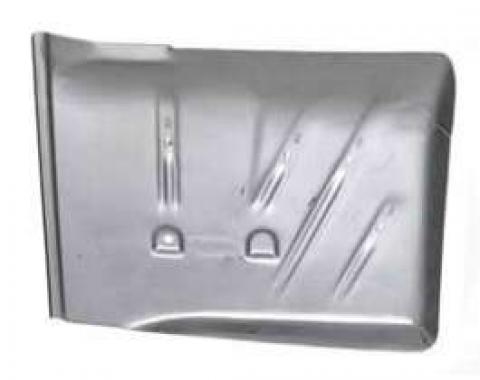 Chevy Floor Pan, Left, Rear, 1955-1957