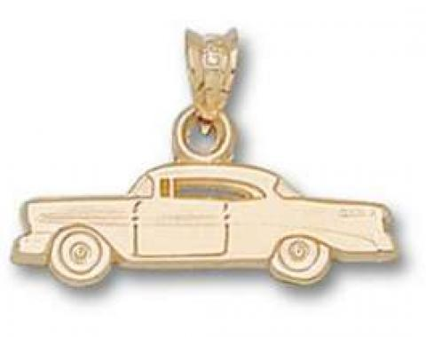 Chevy Pendant, 1956, 14KT Gold