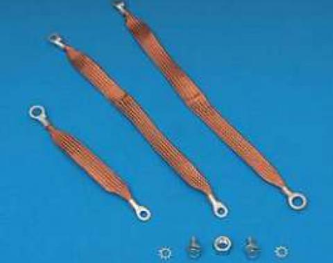 Chevy Ground Wire Strap Kit, 1955-1957